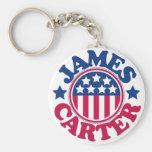 US President James Carter Keychain