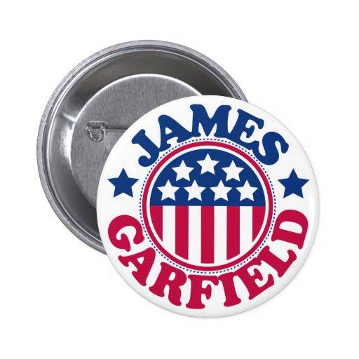 US President James Garfield 2 Inch Round Button