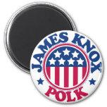 US President James Knox Polk Fridge Magnets
