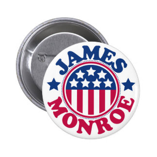 US President James Monroe 2 Inch Round Button