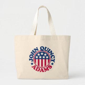 US President John Quincy Adams Large Tote Bag