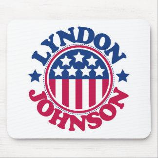 US President Lyndon Johnson Mouse Mats