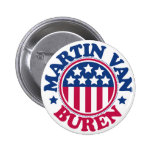 US President Martin Van Buren Buttons