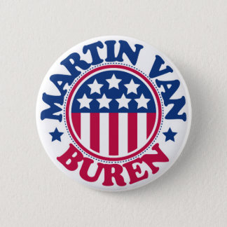 US President Martin Van Buren Pinback Button