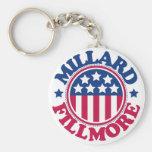 US President Millard Fillmore Keychain