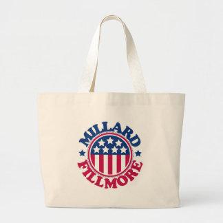 US President Millard Fillmore Large Tote Bag