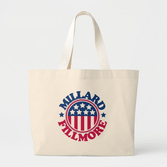 US President Millard Fillmore Large Tote Bag