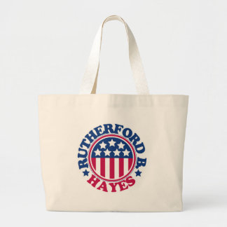 US President Rutherford Hayes Tote Bags