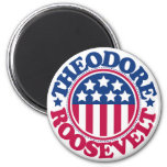 US President Theodore Roosevelt Fridge Magnets