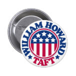 US President William Howard Taft 2 Inch Round Button