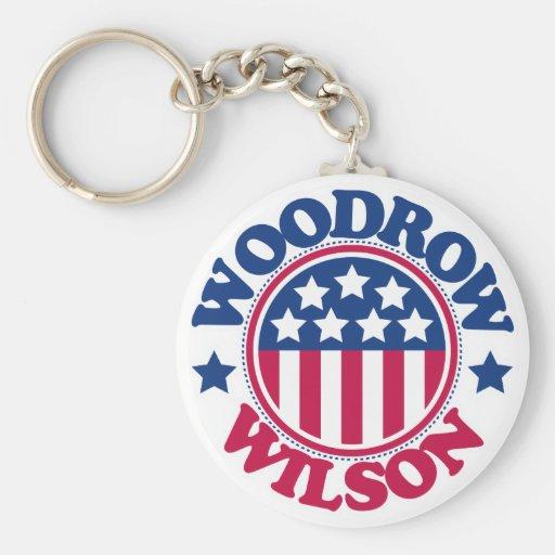 US President Woodrow Wilson Key Chains