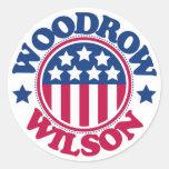 US President Woodrow Wilson Stickers