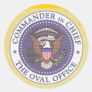 US Presidential Seal Round Sticker