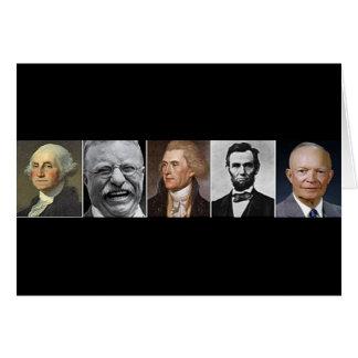 US Presidents Card