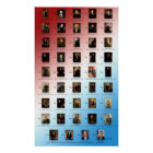 US Presidents (George Washington - Barack Obama) Poster