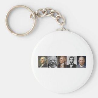 US Presidents Keychain
