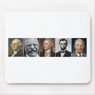 US Presidents Mouse Pad