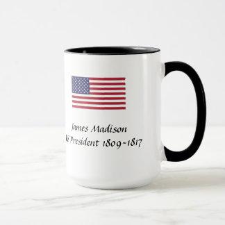 US Presidents Souvenir Mug - James Madison