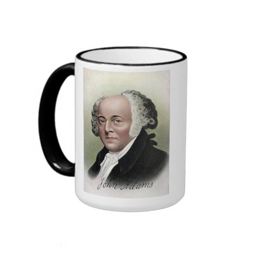US Presidents Souvenir Mug - John Adams