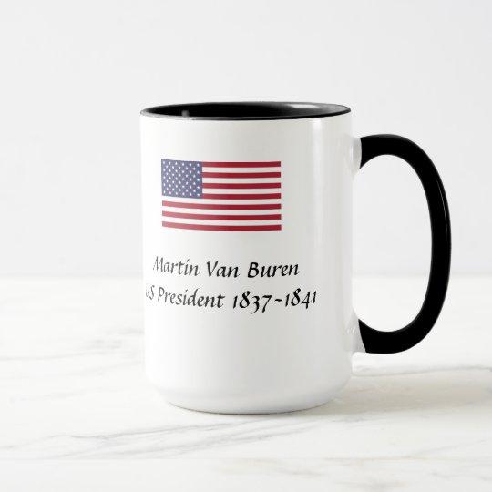 US Presidents Souvenir Mug - Martin Van Buren