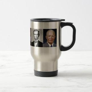 US Presidents Travel Mug