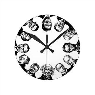 US Presidents Wall Clock