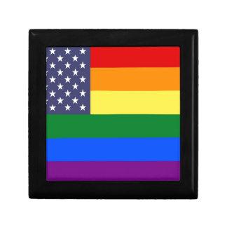 US Pride Flag Gift Box