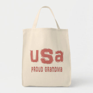 US Proud Grandma Tote Bag