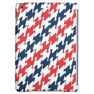 US Red White and Blue Sports Colors iPad Air Cover