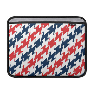 US Red White and Blue Sports Colors MacBook Sleeve