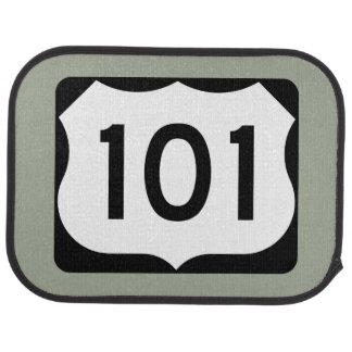 US Route 101 Sign Car Floor Mat