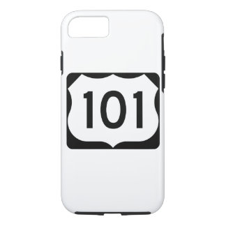 US Route 101 Sign iPhone 8/7 Case