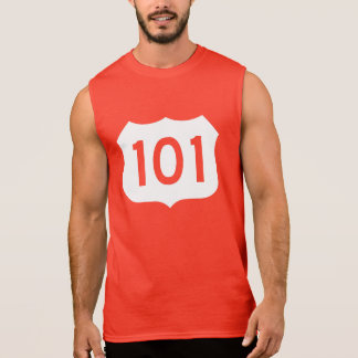 US Route 101 Sign Sleeveless T-shirt