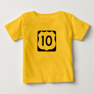 US Route 10 Sign Tee Shirt