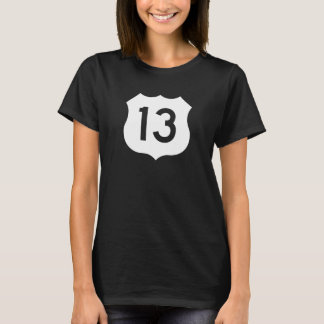 US Route 13 Sign T-Shirt