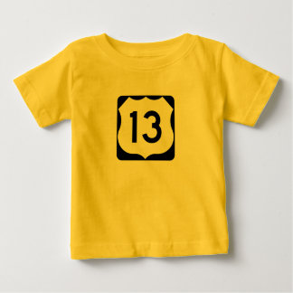 US Route 13 Sign Tee Shirt