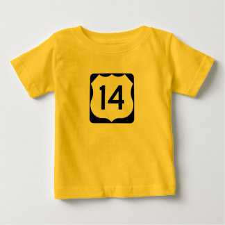 US Route 14 Sign Tee Shirt