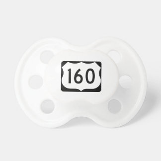 US Route 160 Sign Pacifier