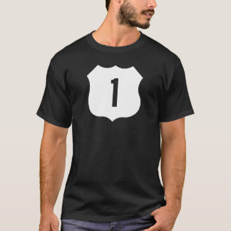 US Route 1 Sign T-Shirt