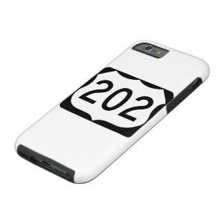 US Route 202 Sign Tough iPhone 6 Case