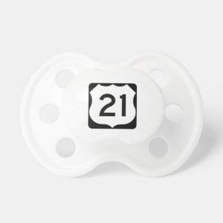 US Route 21 Sign Pacifier