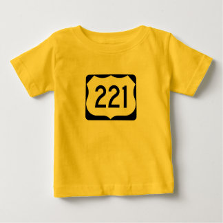 US Route 221 Sign T-shirt