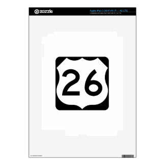 US Route 26 Sign iPad 3 Skin