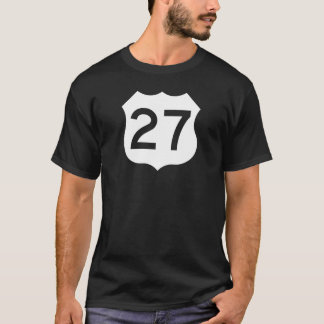 US Route 27 Sign T-Shirt