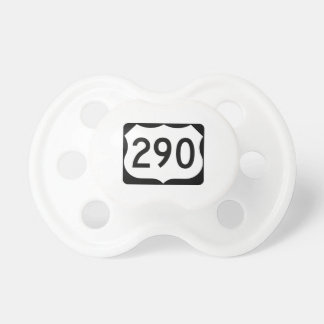 US Route 290 Sign Pacifier