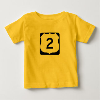 US Route 2 Sign T-shirt