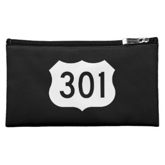 US Route 301 Sign Cosmetic Bag