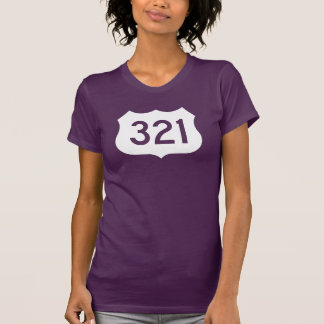 US Route 321 Sign T Shirt