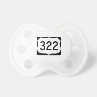 US Route 322 Sign Pacifier