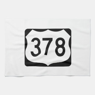 US Route 378 Sign Towel